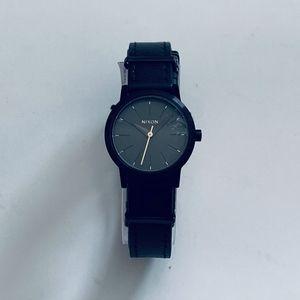 Nixon Kenzi Double-Wrap Leather Watch